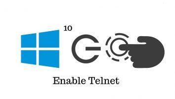 فعال سازی Telnet Client در ویندوز
