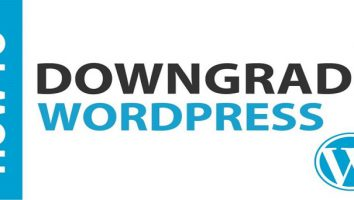 بازگردانی نسخه های وردپرس با استفاده از افزونه WP Downgrade