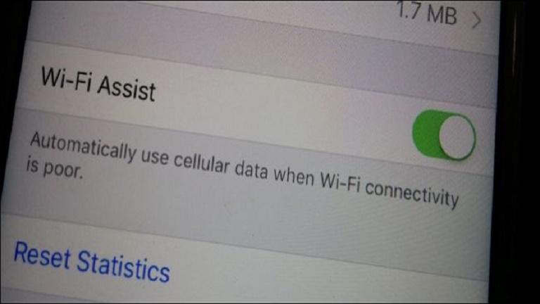 Wi-Fi Assist در آیفون
