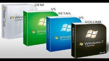 انواع لایسنس های سیستم عامل ویندوز