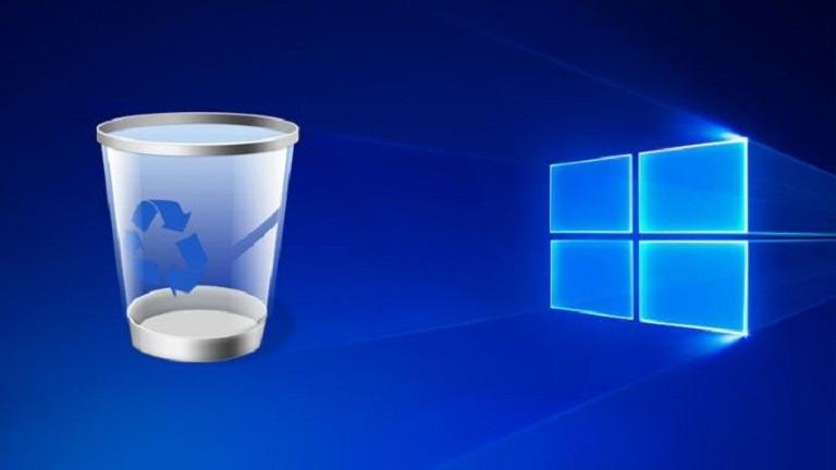 حذف خودکار فایل از سطل زباله در ویندوز