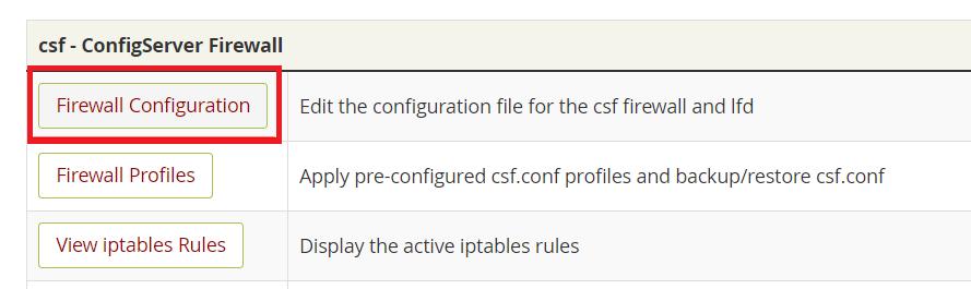 نصب فایروال CSF در لینوکس