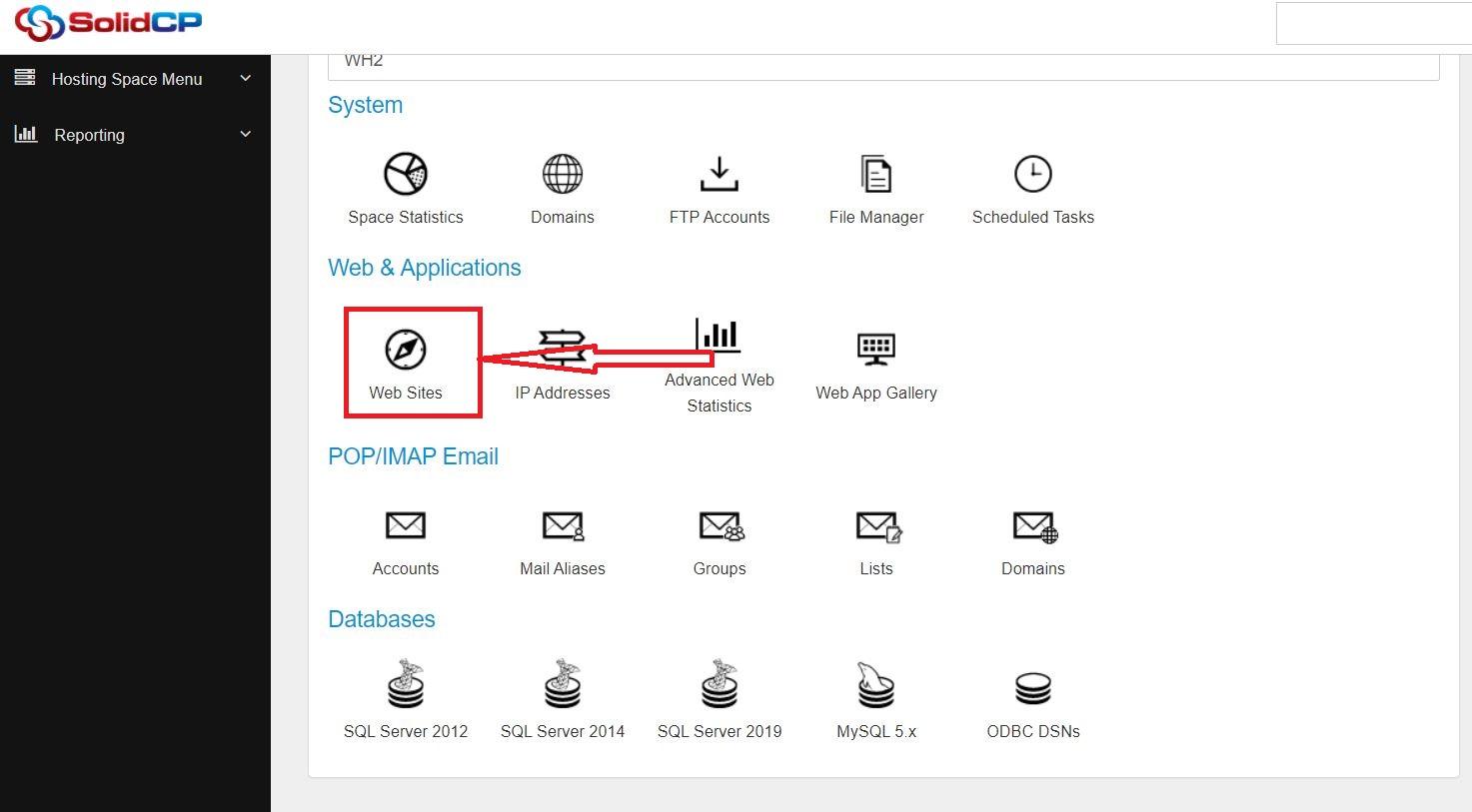 رمز گذاری روی پوشه در SolidCP هاست ویندوز
