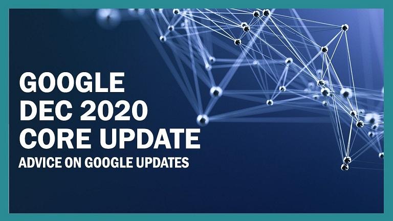 آپدیت هسته گوگل در دسامبر 2020