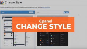 تغییر پوسته یا Style در CPanel هاست لینوکس