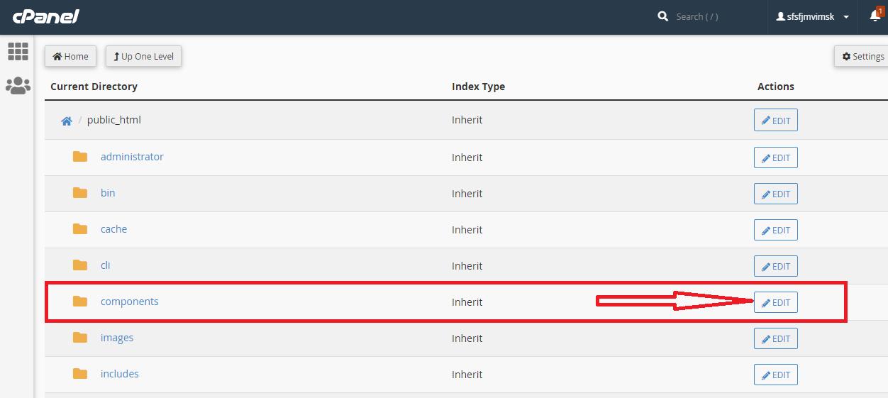 آموزش جلوگیری از Index شدن دایرکتوری در cPanel