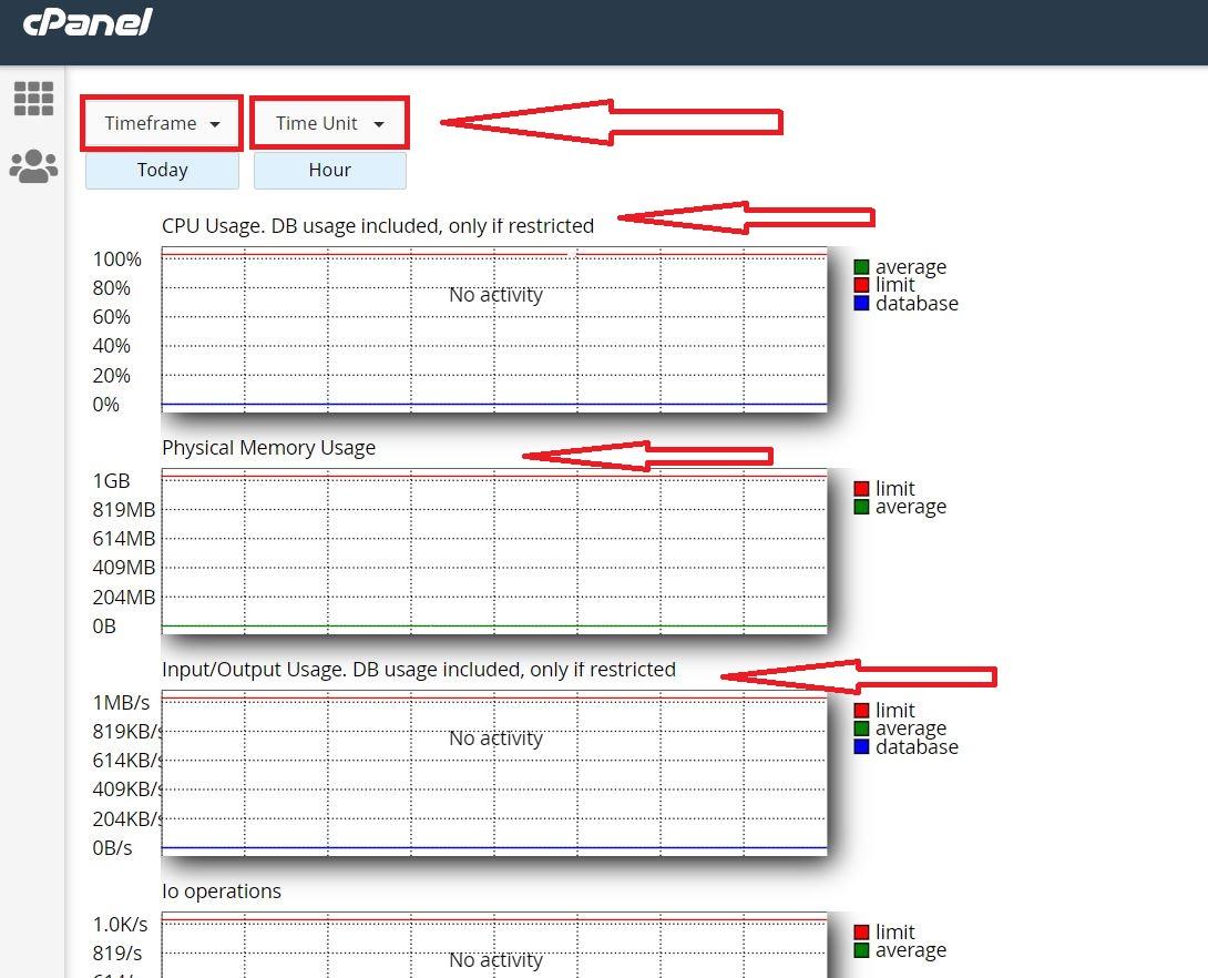 آموزش مشاهده میزان منابع مصرفی سایت در هاست سی پنل
