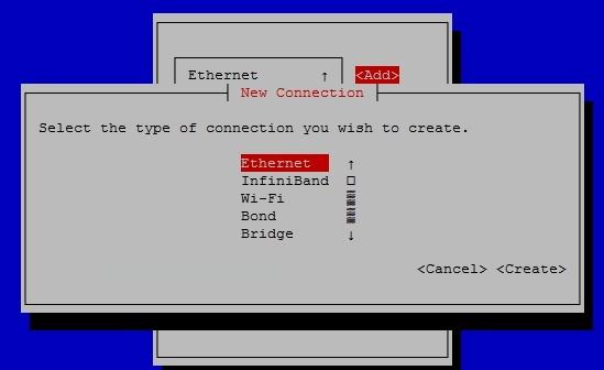مدیریت شبکه در CentOS