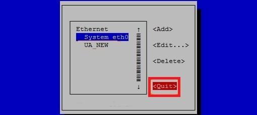 تنظیمات شبکه لینوکس به صورت گرافیکی