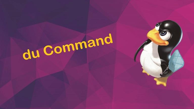 دستور du و استفاده آن در سرور لینوکس