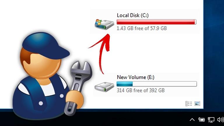 افزایش حجم درایو C در ویندوز سرور
